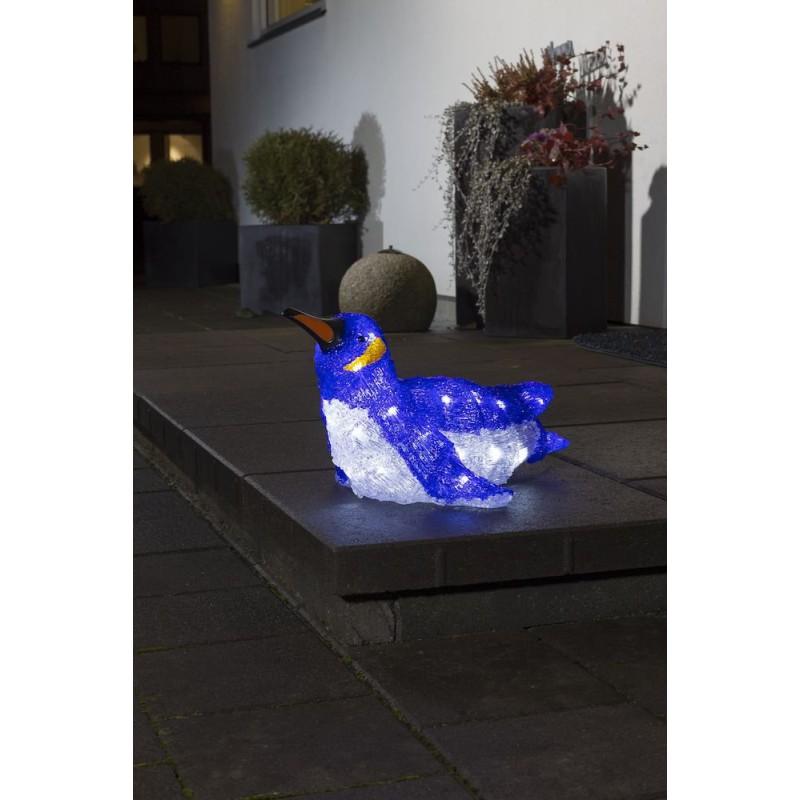 Pingvin Med 32 LED Lys IP44 - Konstsmide