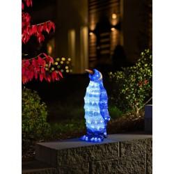 Pingvin Med 96 LED Lys IP44 - Konstsmide