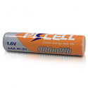 PKCELL 1,6V AAA Ni-Zn 900mWh opladeligt batteri