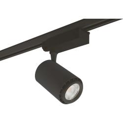 REX 3-fase LED Skinne Spot 18W 230V i 3000K 1455Lm Ra92 - Sort