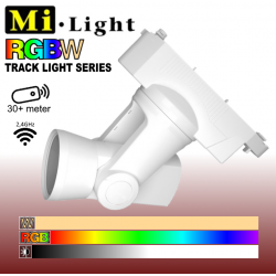Mi•Light RGBW LED skinnespot 25W 230V - Motorstyret