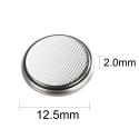 DaVinci® CR1220 knapcellebatteri 3V 45mAh Lithium