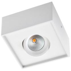 SG Gyro Cube Påbygnings LED Spot 6W 2700K 520Lm - Hvid