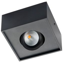 SG Gyro Cube Påbygnings LED Spot 6W 2700K 540Lm - Sort