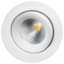 SG Gyro Isosafe LED Downlight 6W 2700K 550Lm Ra95 i Hvid