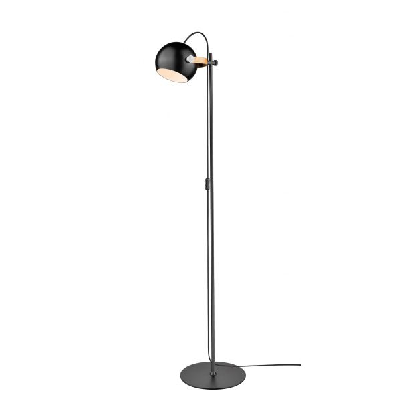 DC Gulvlampe 1 arm Ø18 E27 Sort - Halo Design