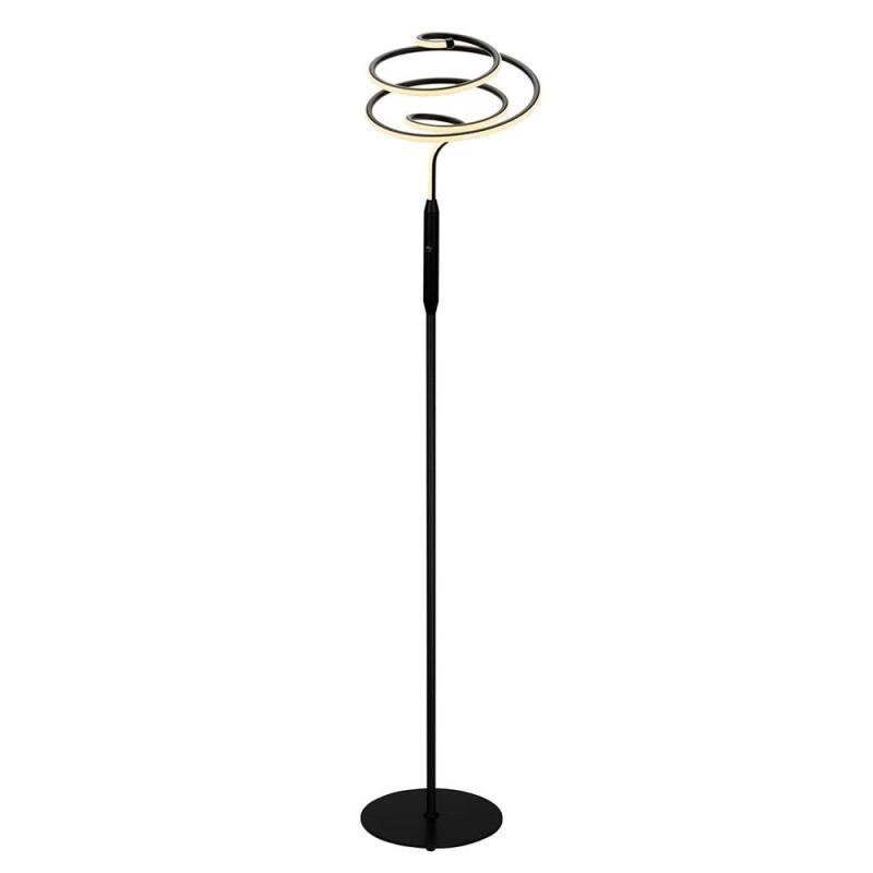 Spiral Gulvlampe 24W LED 2000 lm Sort/Hvid - Halo Design