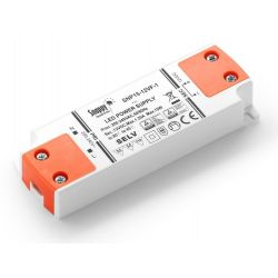 230V Kvalitets LED Driver 12V DC - Stabil 0-20W