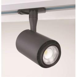 Velo 1-fase LED Skinne spot 8W Ra92 Dim 230V - Sort