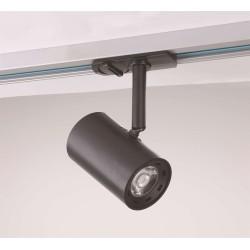 VELO 1-fase LED Skinne spot 7W Ra92 Dim 230V - Sort
