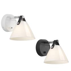 Strap Væglampe G9 Glas - Nordlux