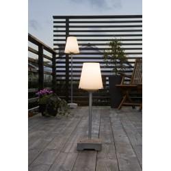Lucca Lounge Udendørslampe IP44 E27 i Grå - Konstsmide