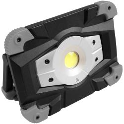 Sunburst 1000 Opladelig LED Projektør IP54 10W 1000Lm 5000K
