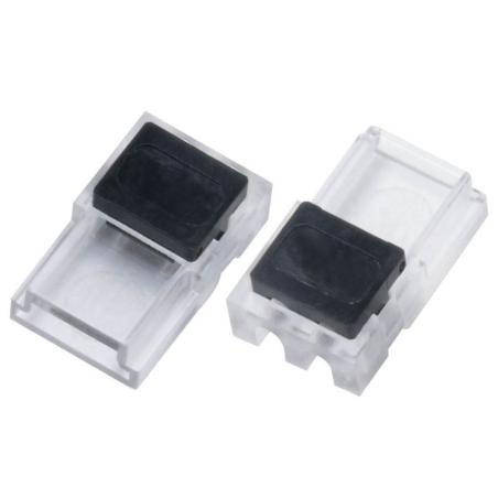 StripClip™ SLIM Single Color IP20 8mm - Bånd-til-Ledning - Til Alu Profiler