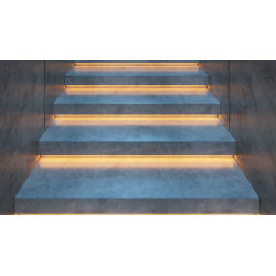 LED Bånd Sæt til Trapper inkl. 2 stk sensorer - 1-15 trin