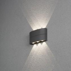 Chieri LED Væglampe Udendørs 8W 3000K 400Lm IP54 i Hvid