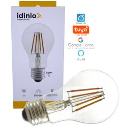 Idinio WiFi LED pære E27 2700K 230V 5W 500Lm