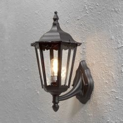 Firenze Væglampe IP444 E27 i Sort