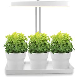 GrowFlow Shine LED vækstlampe m. timer 230V 3500K 1125Lm