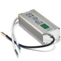 230V kvalitets LED driver 12V DC IP67 1-120W udendørs/indendørs