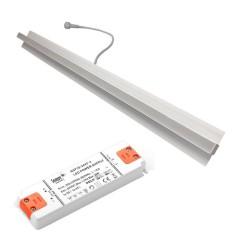 LED Troldtekt Lysskinne 4000K 1850Lm Triac Dim Ra90