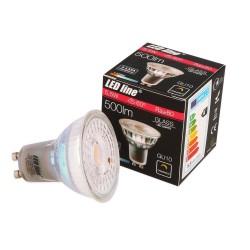 LED Line GU10 LED Pære 5,5W 2700K 500Lm Dim - 60°