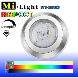 Mi•Light SYS Undervands Spot RGB+CCT IP68 24V 12W 1000Lm