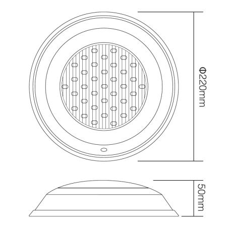 Mi•Light Undervands Spot RGB+CCT IP68 24V 12W 1000Lm