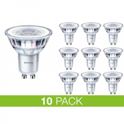 PHILIPS GU10 LED 4W 2700K 250Lm Dim - 10-PACK