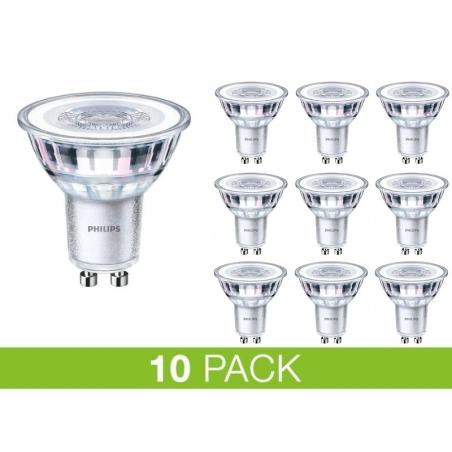 PHILIPS GU10 LED 4W 2700K 250Lm Dim - 10-PACK