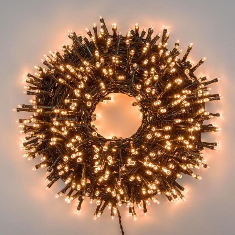 MiniCluster Udendørs Lyskæde 1500 LED IP44 2700K 30 Meter