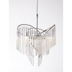 Isabell Loftlampe G9 i Krom/Krystaller - Nielsen Light