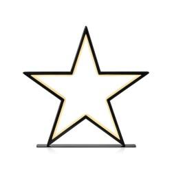 VEGA LED Bord Stjerne 3,6W 2700K i Sort