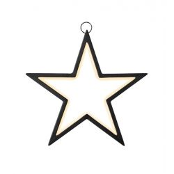 VEGA LED Hængende Stjerne 3,6W 2700K i Sort