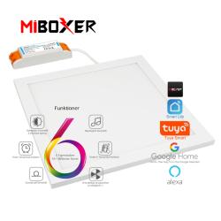 MiBoxer/Mi•Light LED Panel 30x30, RGB+CCT. 2,4GHz, WiFi
