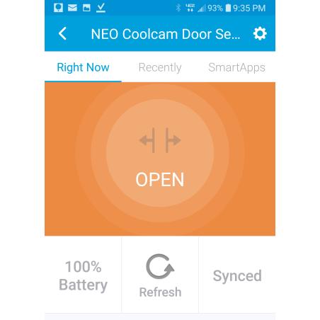 NEO WiFi dør- og vinduessensor til Google Home/Assistant og Amazon Alexa/Echo