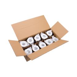 Hilux D10 Nature Indbygningsspot GU10 i Hvid (20 stk. pakke)