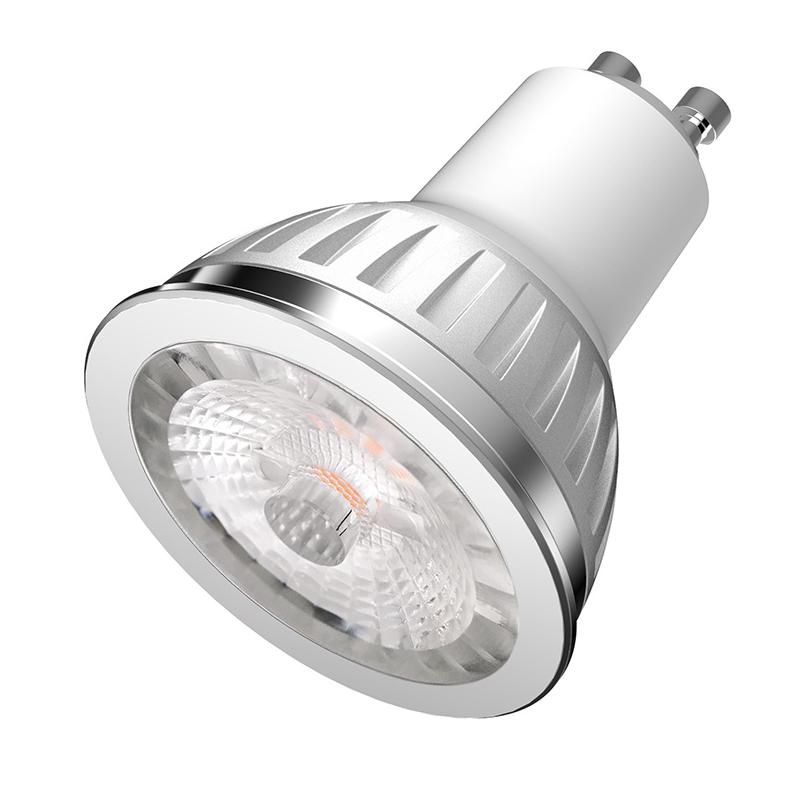 SHARP GU10 LED Pære 5,5W 2700K 380Lm Ra97 Dæmpbar 60°