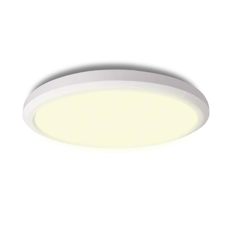 Ultra LED Loftlampe 15W IP54 3000K Med 3-Step Dim - Hvid