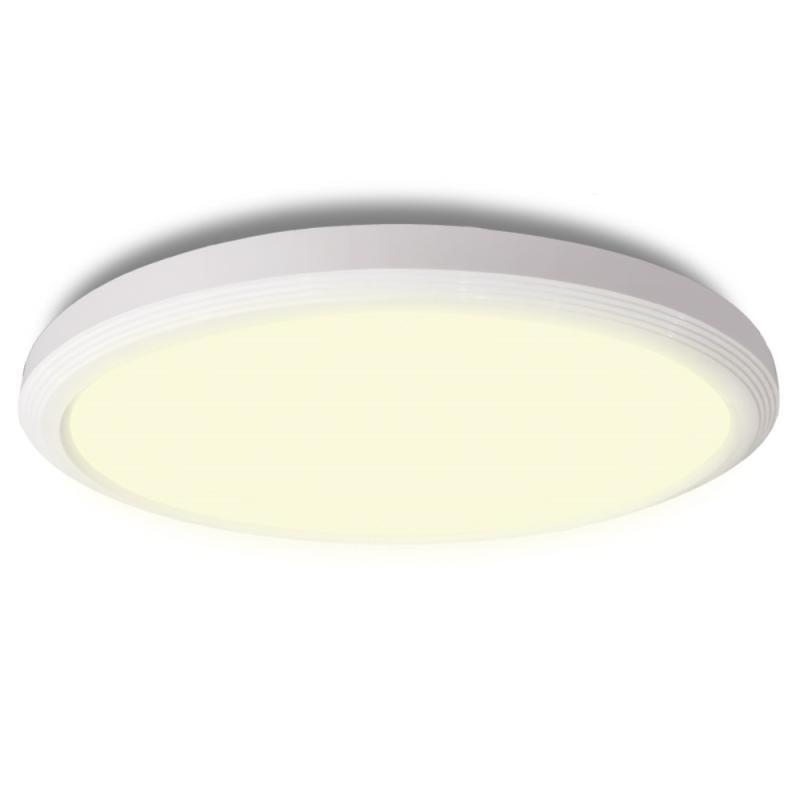Ultra LED Loftlampe 18W IP54 3000K Med 3-Step Dim - Hvid