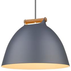 Århus Pendel Lampe Ø40, E27 i Grå - Halo Design